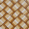 Mosaico Pattern Decorative Floor Tile Glass Tile Mosaic Mural Patterns Mosaic Tile per Kitchen