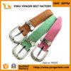 Ontwerpen van de Manier van de Kleur van het suikergoed de Magere Nieuwe Dame Cute Leather Belts