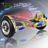 Roue approuvée de la charge maximum 100kg 2 de batterie de RoHS Sumsung de la CE scooter de équilibrage d'individu de 10 pouces