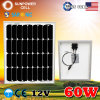 60W 60watt Monocrystalline Solar Panel pour Camping
