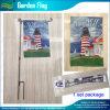 Block heraus Cloth Double Sides Printing Garten Flag (B-NF06F11012)