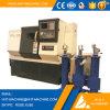 Máquina china del torno del CNC de la base de la inclinación del metal del precio bajo de Tck-32L