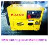 generador diesel silencioso trifásico 7.5kVA/6kw/50Hz con el CE, ISO