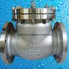 150lb ha lanciato la valvola di ritenuta dell'oscillazione dell'estremità della flangia dell'acciaio inossidabile CF8m