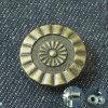 コートのためのカスタム形のめっきデザイン黄銅のスナップボタン
