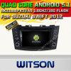 Automobile DVD GPS del Android 5.1 di Witson per Suzuki 2012 rapido con il supporto del Internet DVR della ROM WiFi 3G della chipset 1080P 16g (A5796)