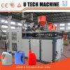 Prix de moulage de machine de HDPE de bouteille de coup en plastique automatique d'extrusion