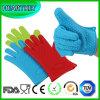 Перчатки печи силикона теплостойкNp перчатки выпечки BBQ изолированные жарой