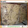 De natuurlijke Opgepoetste Gouden Plak van het Onyx van de Vos voor de Decoratie van de Muur