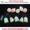 Luces de la cadena de la decoración LED de la celebración de días festivos