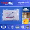 Polvo caliente de la lactona del delta de Glucono de la categoría alimenticia de la venta, CAS 90-80-2 con alta calidad