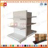 Prateleiras de madeira de aço personalizadas Manufactured da gôndola do supermercado (Zhs467)