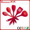 Sistema de goma del utensilio del silicón de las herramientas de la cocina de los utensilios de cocina aprobados por la FDA