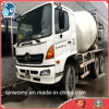 6-Cylinders Clean-8m3-Mixing-Drum Nuovo-Gutters Hino Used Concrete Mixer Truck
