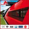 PE/PVDF Gebäude-Oberflächen-Adjustage Acm Platten