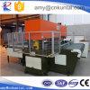 Prensa que corta con tintas hidráulica material suave con el sistema de alimentación de la correa