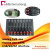 8 항구는 대량 SMS GSM 전산 통신기 수영장 USB/RS232를 받고 보낸다