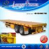 3 assen 40ft de Semi Aanhangwagen van de Container/Hoog Bed Traierailer