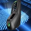 3 pulgadas TFT táctil de la huella digital de la cara de la pantalla múltiple Control de Asistencia de Acceso Biométrico de Identificación Tiempo