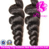 6A Grade Loose Wave Weft 100%のブラジル人Full Cuticle Virgin Remy Human Hair