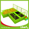 Park dell'interno Free Jumping Running Trampoline con Customized Design
