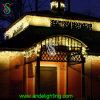 LEDの街灯の新年のクリスマスの通りの装飾