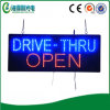 Quadro indicador acrílico do diodo emissor de luz Conduzir-Através do sinal aberto (HSD0034)