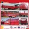 De 3 essieux de frontière de sécurité de ferme de cargaison de transport remorque semi