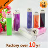 Mini banco de Plastic Portable Lipstick Style 2000/2200/2600/3000mAh Power (YT-PB06)