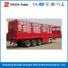 2016 de de Semi Aanhangwagen van de Staaf van het Pakhuis van het Vee van 3 As/Vrachtwagen van de Staak van het Vervoer van dieren voor Verkoop