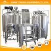 Usine de brasserie de bière d'acier inoxydable avec le certificat de la CE à vendre