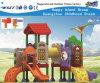 Tipo equipamento da casa do campo de jogos das crianças para a escola Hf-16402
