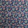 Tela llana del algodón para la ropa con la flor impresa (30X30/68X68)
