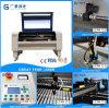 Cortador de borracha acrílico do laser do CNC da máquina de gravura do CO2