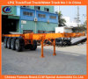 Heavy eccellente 4-Axle 40feet Skeletal Container Semi Trailer