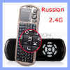 Keyboard magro Handheld com Touchpad Support 2.4G Bluetooth Keyboard (KN-102)