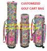 Saco de golfe impermeável de nylon colorido impermeável do saco de golfe do saco de golfe