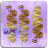 100% de la pleine Culticle 3,5 onces Ombre27 / 22 Body ondulés italien Mink Extension de cheveux! !