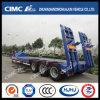 3axle Low Concavo-Beam Bed Semi Trailer Without Cover su Tire
