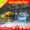 Planta de lavagem do diamante móvel portátil para a mineração pequena em África
