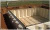 Подземные секционные цистерны с водой
