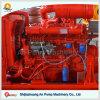 Moteur diesel marin refroidi à l'eau de grand de boyau cylindre horizontal de pouvoir
