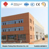 Light prefabbricato Steel Structure Workshop Building con Parapet Wall