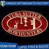 O presente do esmalte da impressão do logotipo do OEM do preço de fábrica Badges o metal