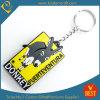 Kundenspezifische Esel-Tierfirmenzeichen-Gummi Belüftung-Schlüsselkette für Aktivitäts-Geschenk in der Qualität