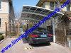 Parking en aluminium, parking d'armature d'alliage d'aluminium, parking en aluminium avec le matériel de toiture de polycarbonate, tente de voiture, verrière de voiture, abri de voiture, parking de jardin
