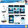 Creatieve LEIDEN van de Spreker van het Woofer Bluetooth Bt6 Licht voor Mobiele Telefoons