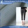 均一女性のズボンのための格子縞格子縞の伸張の陽イオンポリエステルElastaneファブリック