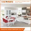 Gabinete de cozinha Home moderno da madeira contínua da mobília
