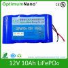 Batteria di litio 12V 10ah per la luce di via solare del LED